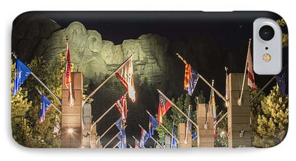 Avenue Of Flags IPhone Case