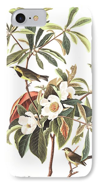 Bachman's Warbler  IPhone 7 Case by John James Audubon