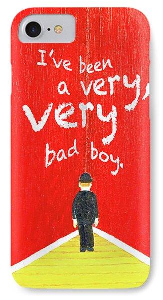 Bad Boy Greeting Card IPhone Case