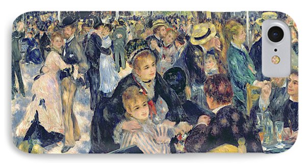 Ball At The Moulin De La Galette IPhone Case by Pierre Auguste Renoir