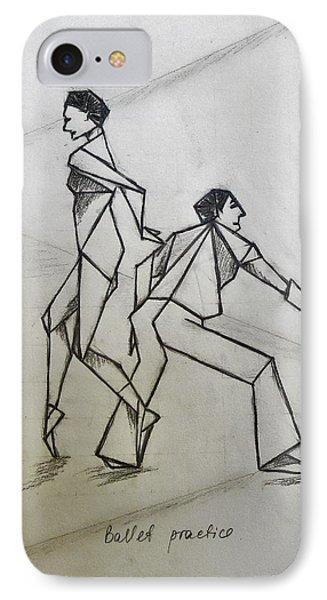 Ballet Practice IPhone Case by Tamara Savchenko