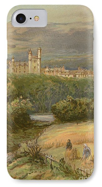 Balmoral Castle IPhone Case by English School