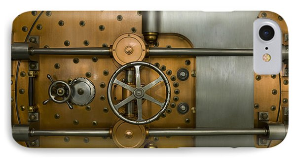 Bank Vault Door Exterior Phone Case by Adam Crowley