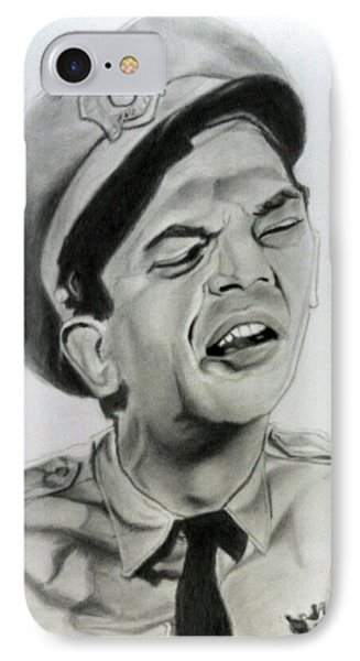 Barney Fife IPhone Case by Brandon Treadaway
