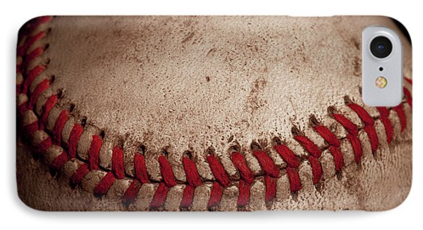 IPhone 7 Case featuring the photograph Baseball Seams by David Patterson