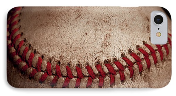 IPhone Case featuring the photograph Baseball Seams by David Patterson