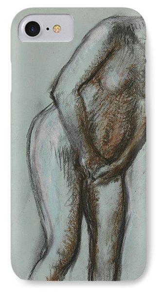 Bather  IPhone Case by Edgar Degas