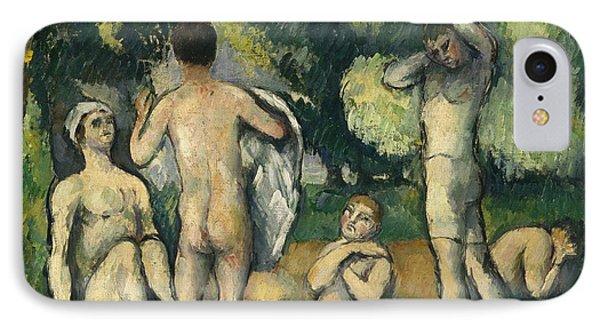 Bathers Phone Case by Paul Cezanne