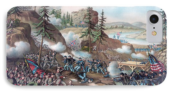 Battle Of Chattanooga IPhone Case by American School