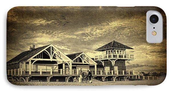 Beach House IPhone Case by Lourry Legarde