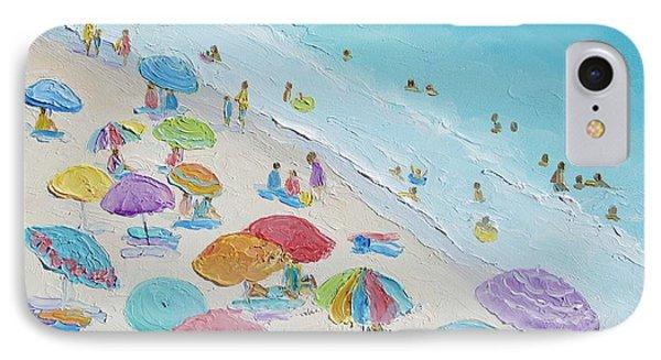 Beach Painting - Summer Love IPhone Case by Jan Matson