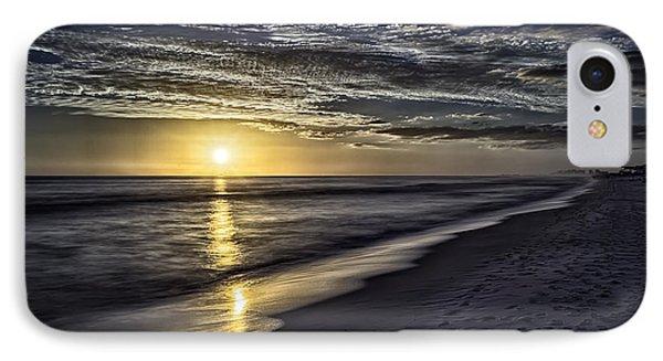 Beach Sunset 1021b IPhone Case by Walt Foegelle