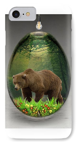 Bear Art IPhone Case
