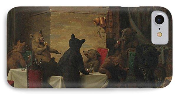 Bear Carousal IPhone Case by William Holbrook Beard