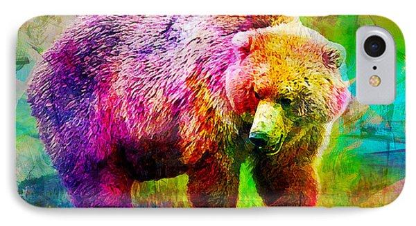 Bear Phone Case by Elena Kosvincheva