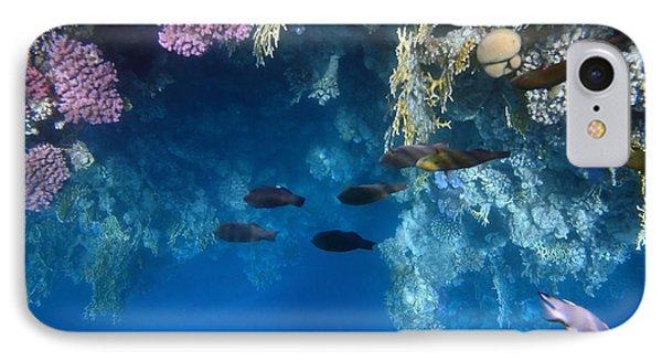 Beautiful Red Sea World IPhone Case
