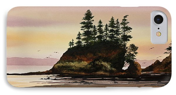 IPhone Case featuring the painting Beautiful Shore by James Williamson
