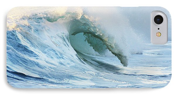 Beautiful Wave Breaking Phone Case by Vince Cavataio - Printscapes