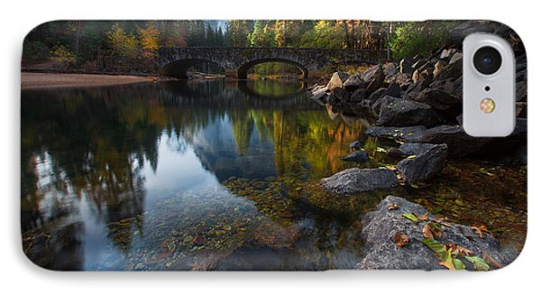 Beautiful Yosemite National Park IPhone Case by Larry Marshall