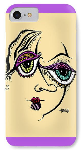 IPhone Case featuring the painting Beauty In Imperfection by Tanielle Childers