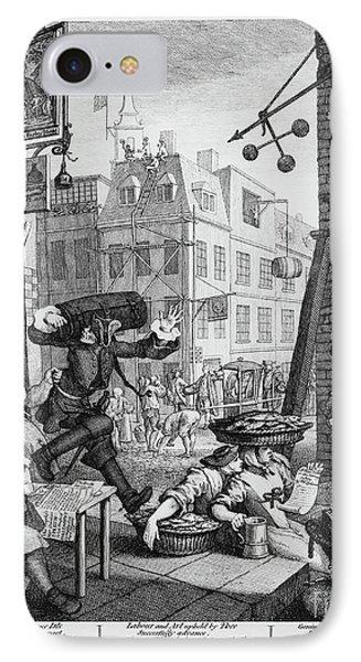 Beer Street IPhone Case by William Hogarth