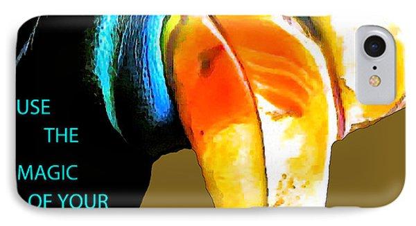 Believe Toucan Phone Case by Debra     Vatalaro