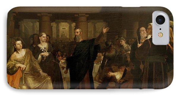 Belshazzar's Feast IPhone Case by Washington Allston