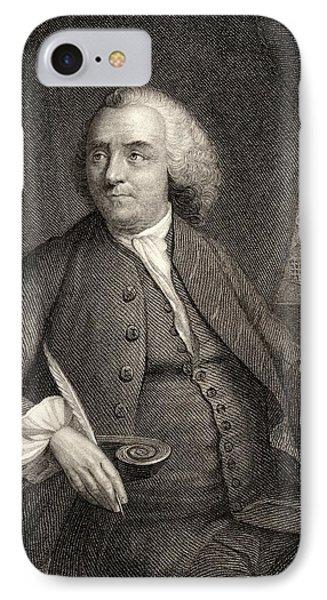 Benjamin Franklin, 1706-1790. American IPhone Case