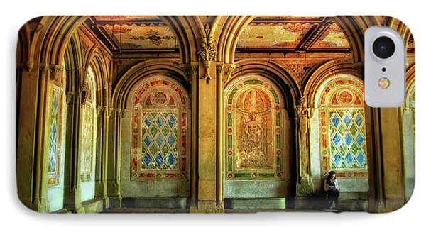 IPhone 7 Case featuring the photograph Bethesda Terrace Arcade by Jessica Jenney