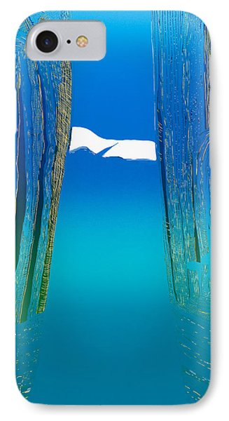 Between Two Mountains. Phone Case by Jarle Rosseland