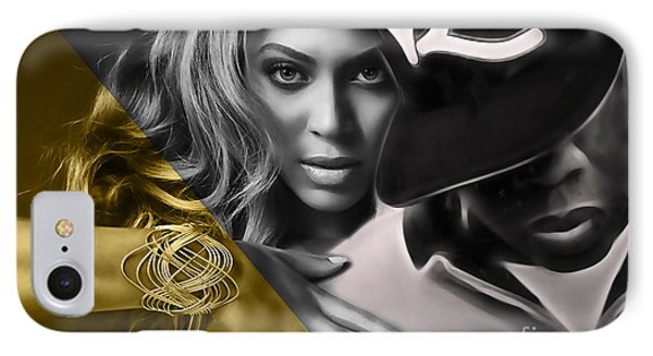 Beyonce Jay Z Collection IPhone Case