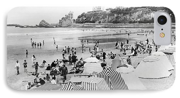 Biarritz On The Bay Of Biscay IPhone Case by Underwood Archives