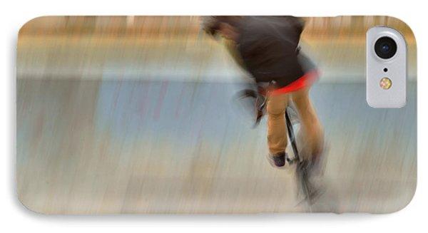 IPhone Case featuring the photograph Biking  The Skateboard Park 4 by Kae Cheatham