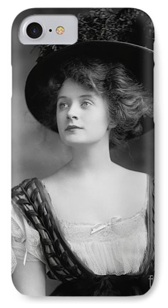 Billie Burke IPhone Case by Celestial Images