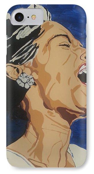 Billie Holiday IPhone Case by Rachel Natalie Rawlins