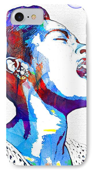 Billie Holiday IPhone Case