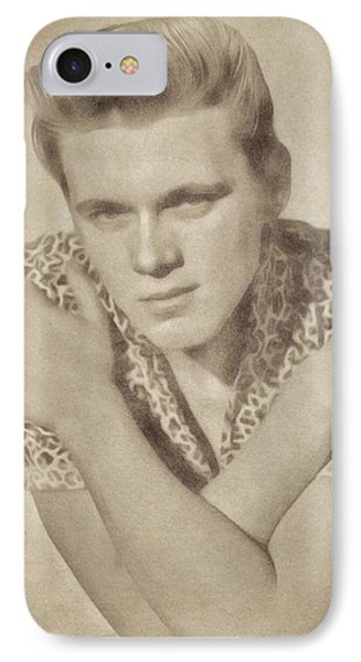 Billy Fury, Singer IPhone Case by John Springfield