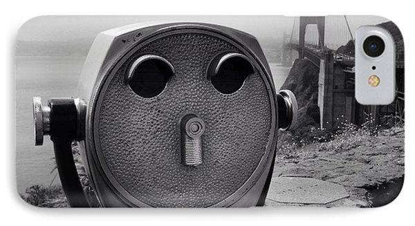 Binoculars IPhone Case by Les Cunliffe