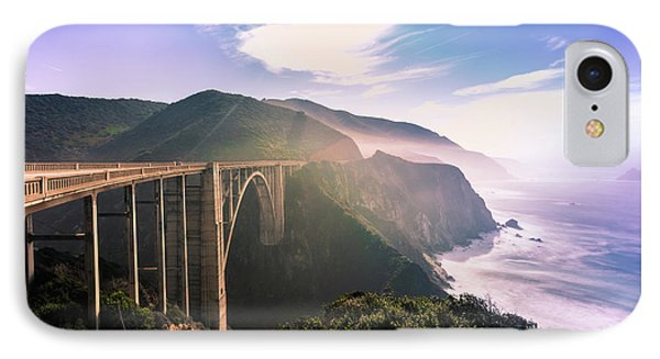 IPhone Case featuring the photograph Bixby Creek Bridge,big Sur by Jingjits Photography