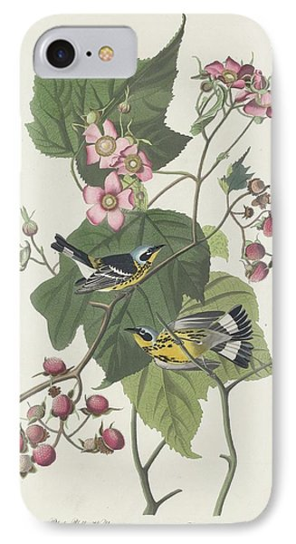 Black And Yellow Warbler IPhone 7 Case by Anton Oreshkin