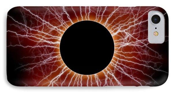 Black Star Phone Case by Michal Boubin