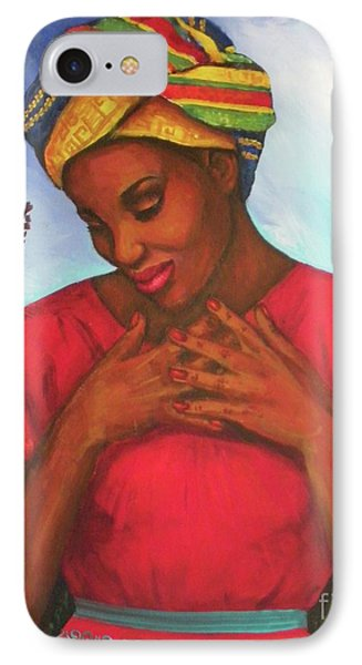 Blessed IPhone Case by Alga Washington