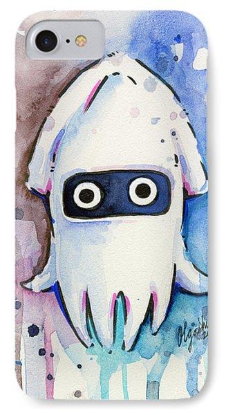 Blooper Watercolor IPhone Case by Olga Shvartsur
