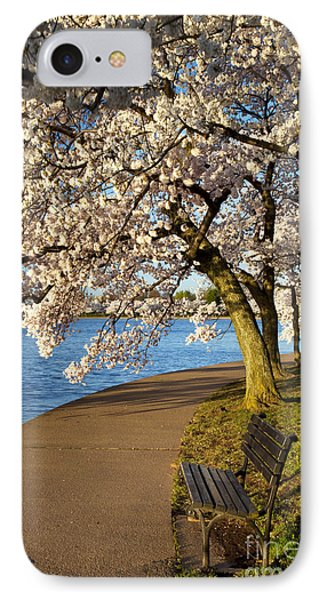 Blossoming Cherry Trees Phone Case by Brian Jannsen