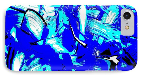 Abstract Tn 007 By Taikan IPhone Case