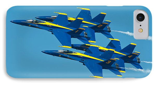 Blue Angels Phone Case by Sebastian Musial
