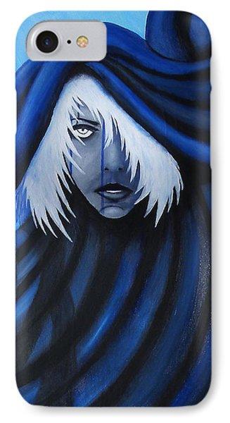 Blue IPhone Case by Edwin Alverio