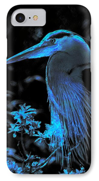 IPhone Case featuring the photograph Blue Heron by Lori Seaman