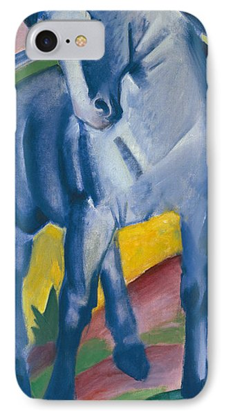 Blue Horse IPhone Case by Franz Marc