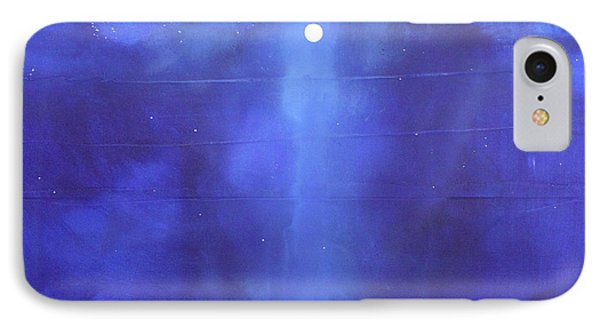 Blue Night Magic Phone Case by Toni Grote